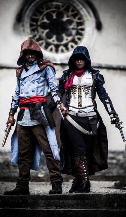 Assassin's Creed Unity Cosplay by Johann COUR