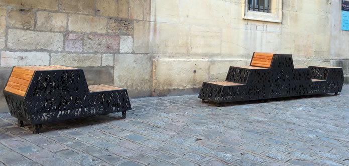 Les bancs « Conversations »