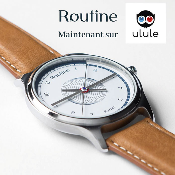 Montre Routine radar