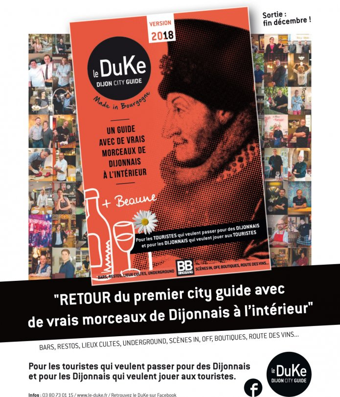 Le Duke Dijon City Guide version 2018