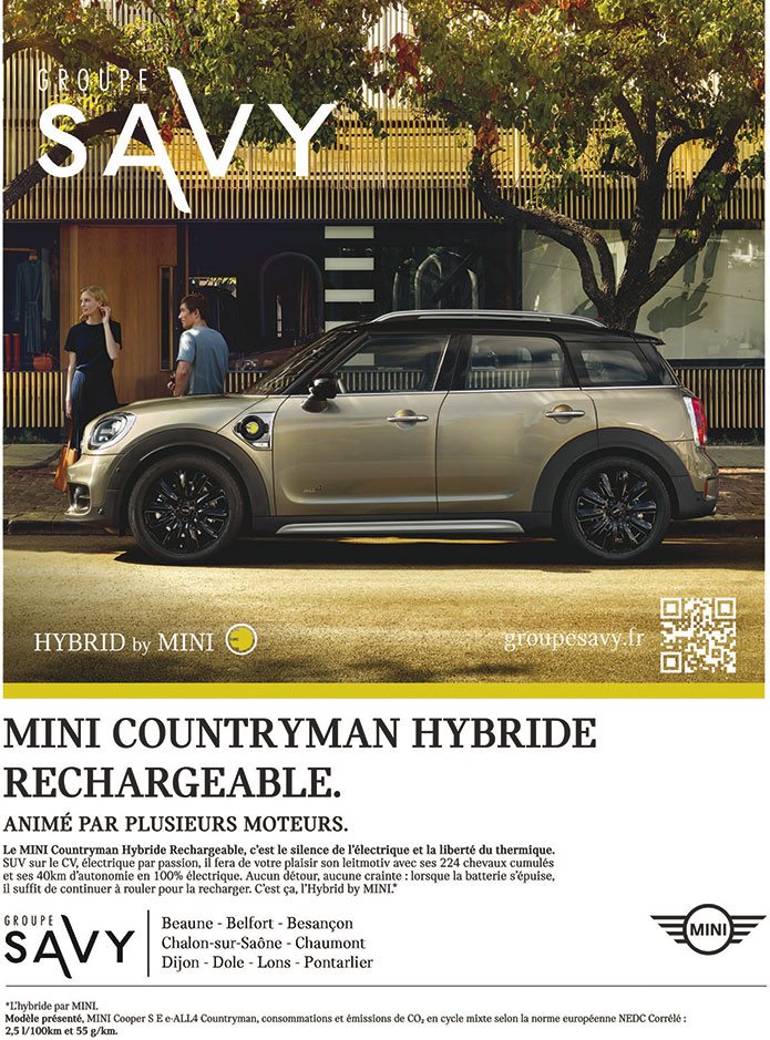 Mini Countryman hybride rechargeable